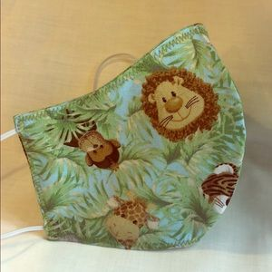 Handcrafted Jungle Babes cloth face mask
